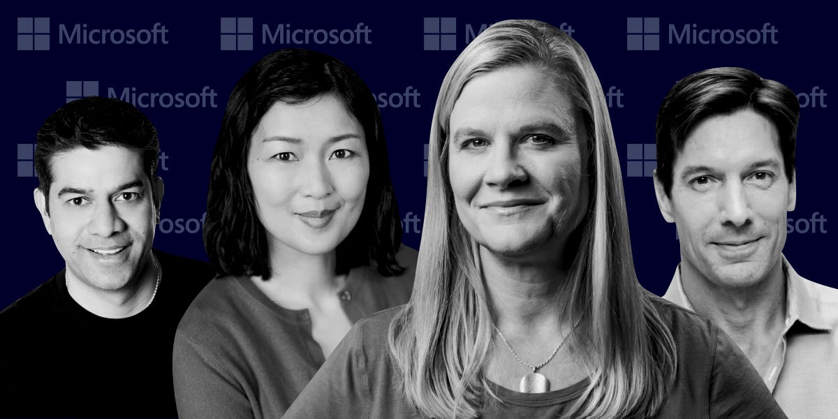 Meet the power players behind Microsoft's Azure cloud