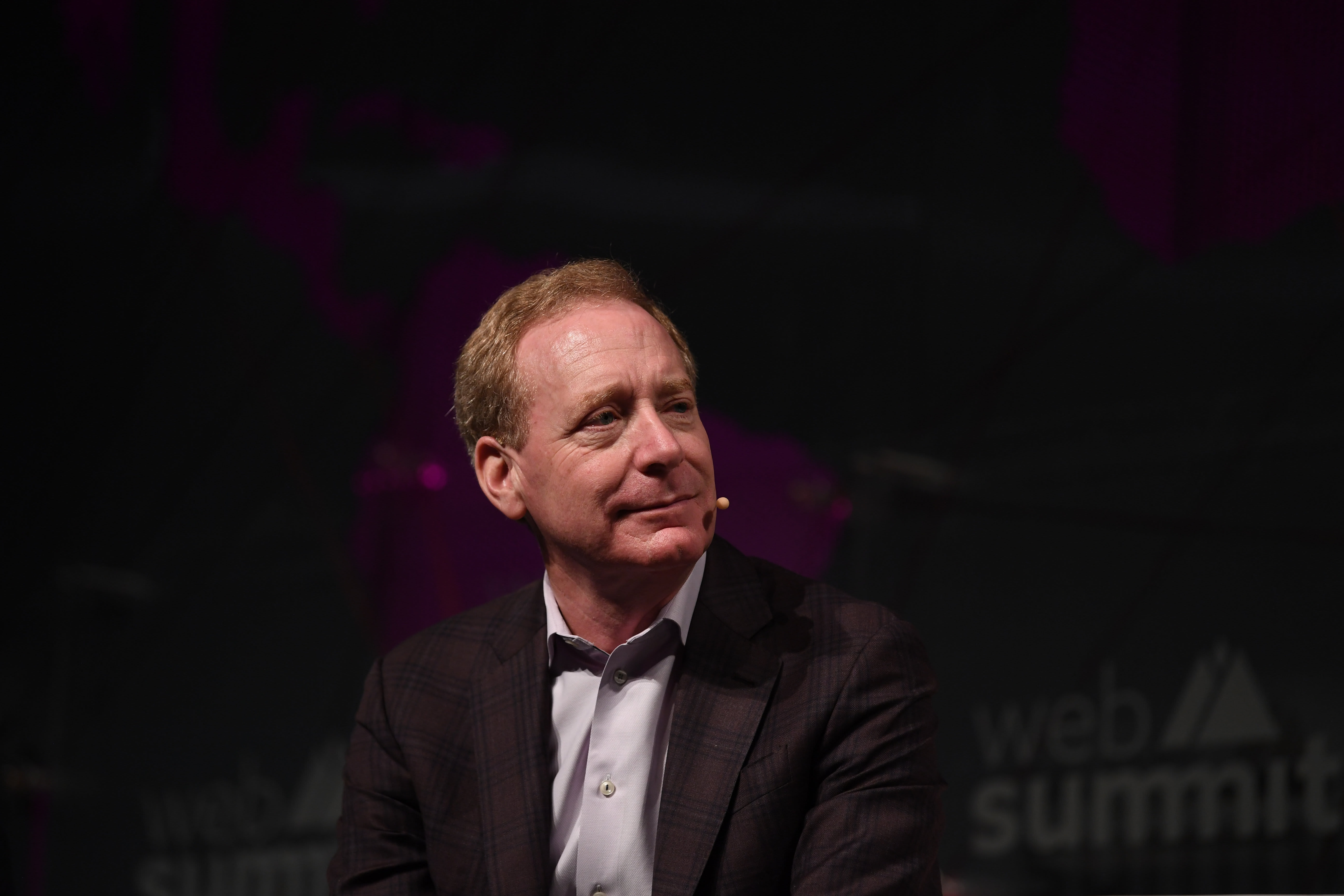 Microsoft President Brad Smith says work on JEDI continues despite Amazon protest