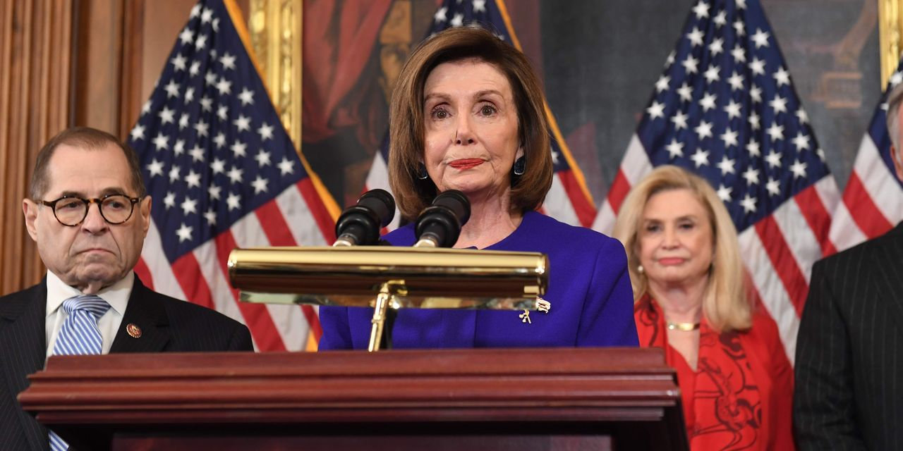 House Democrats Announce Two Articles of Impeachment