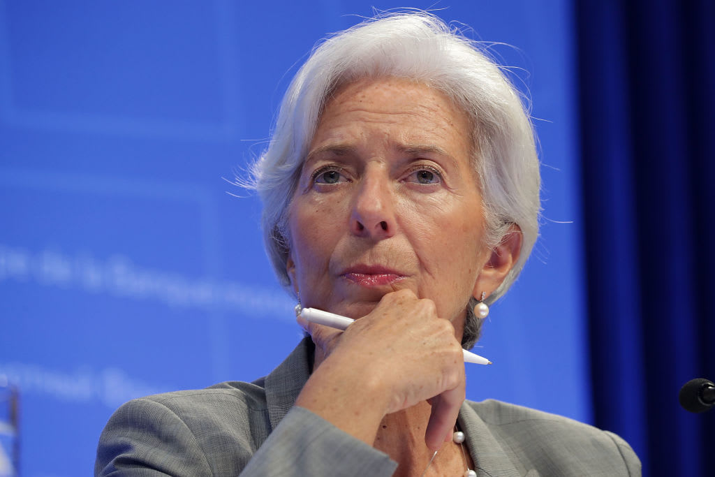 Watch Christine Lagarde speak at debut ECB press conference