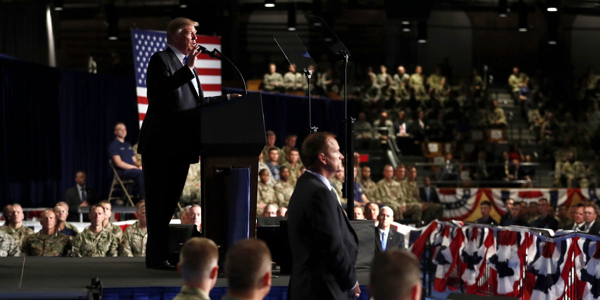Trump set to announce he's withdrawing 4,000 troops from Afghanistan