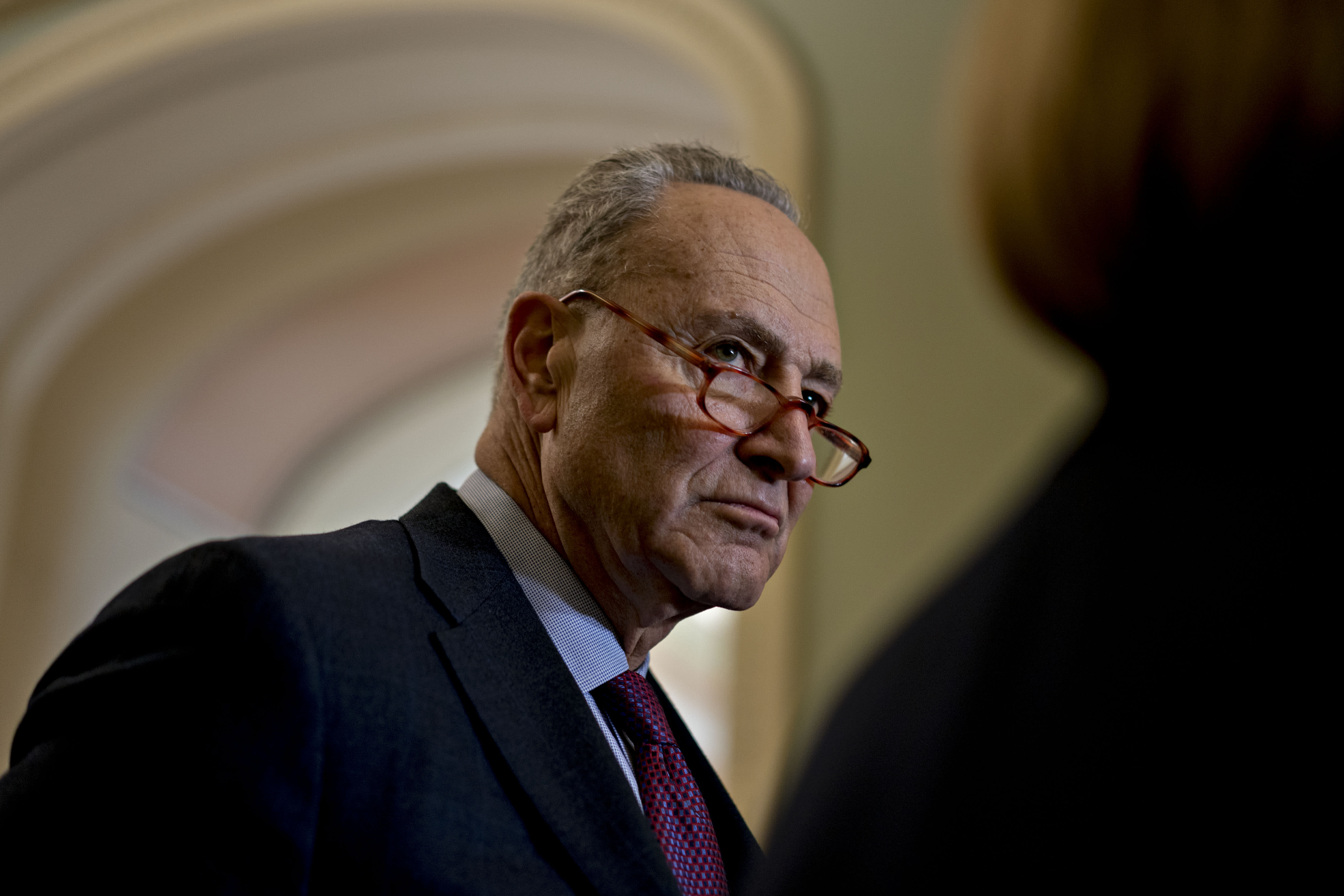 Schumer proposes Bolton, Mulvaney testify in Senate impeachment trial