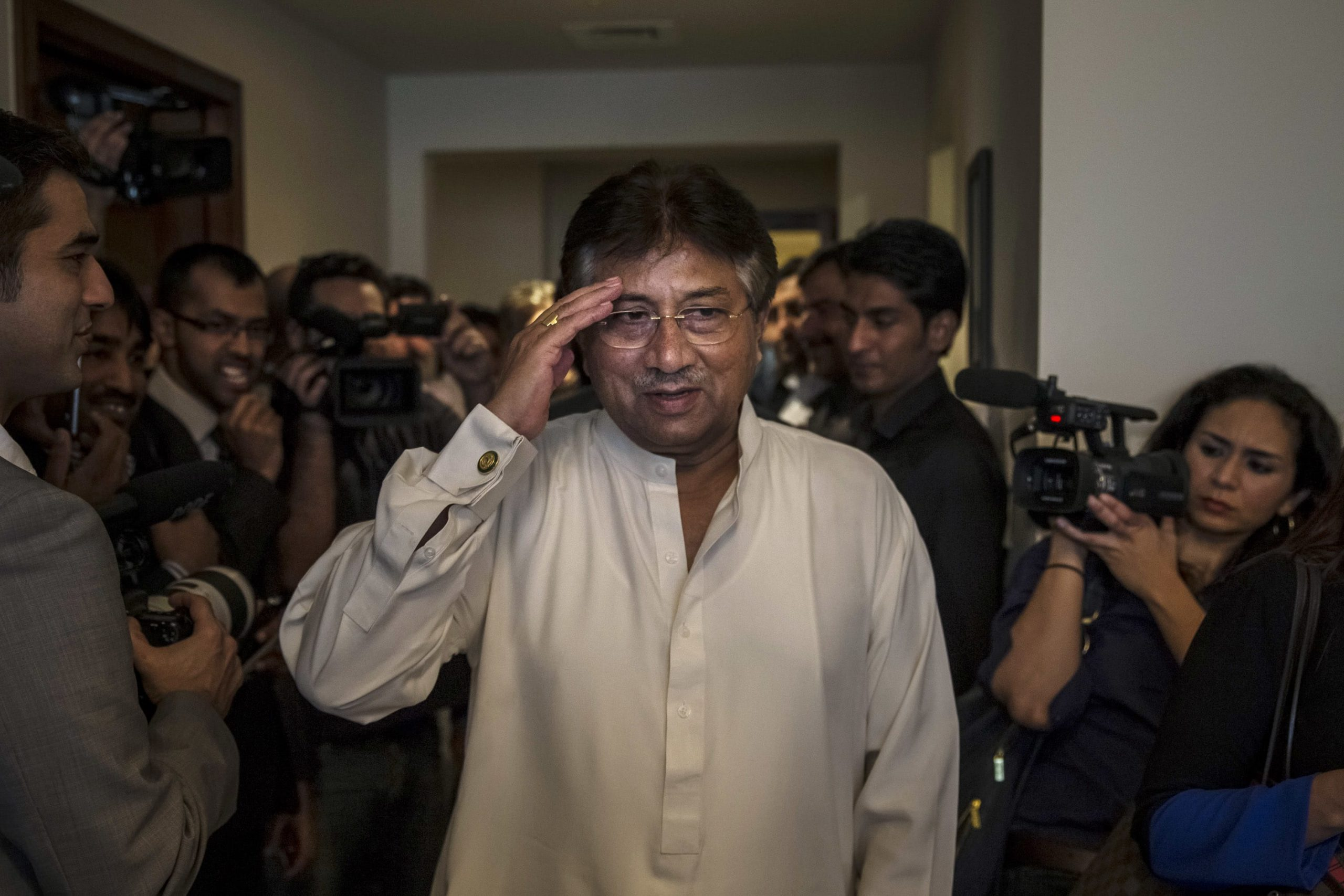Pakistan court sentences former military ruler Pervez Musharraf to death for treason