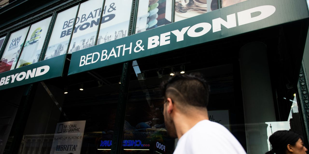 Bed Bath & Beyond Cleans Out Its Executive Suite