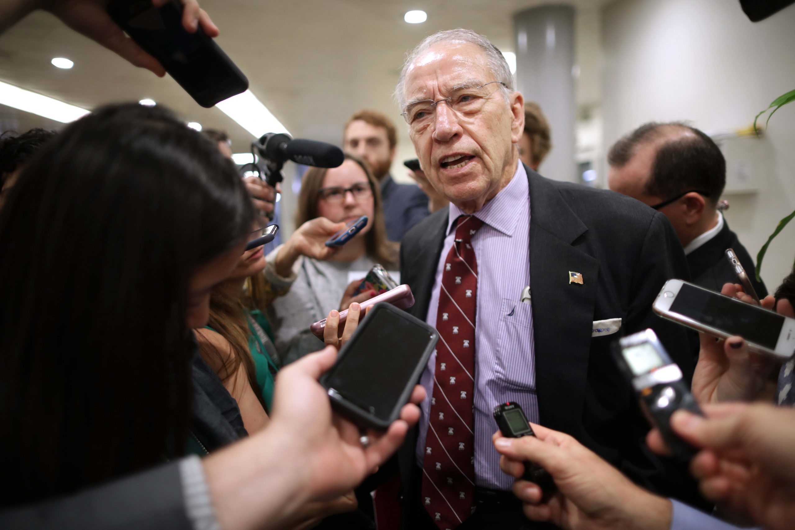GOP Sen. Grassley says Mitch McConnell sabotaged support for his drug pricing bill