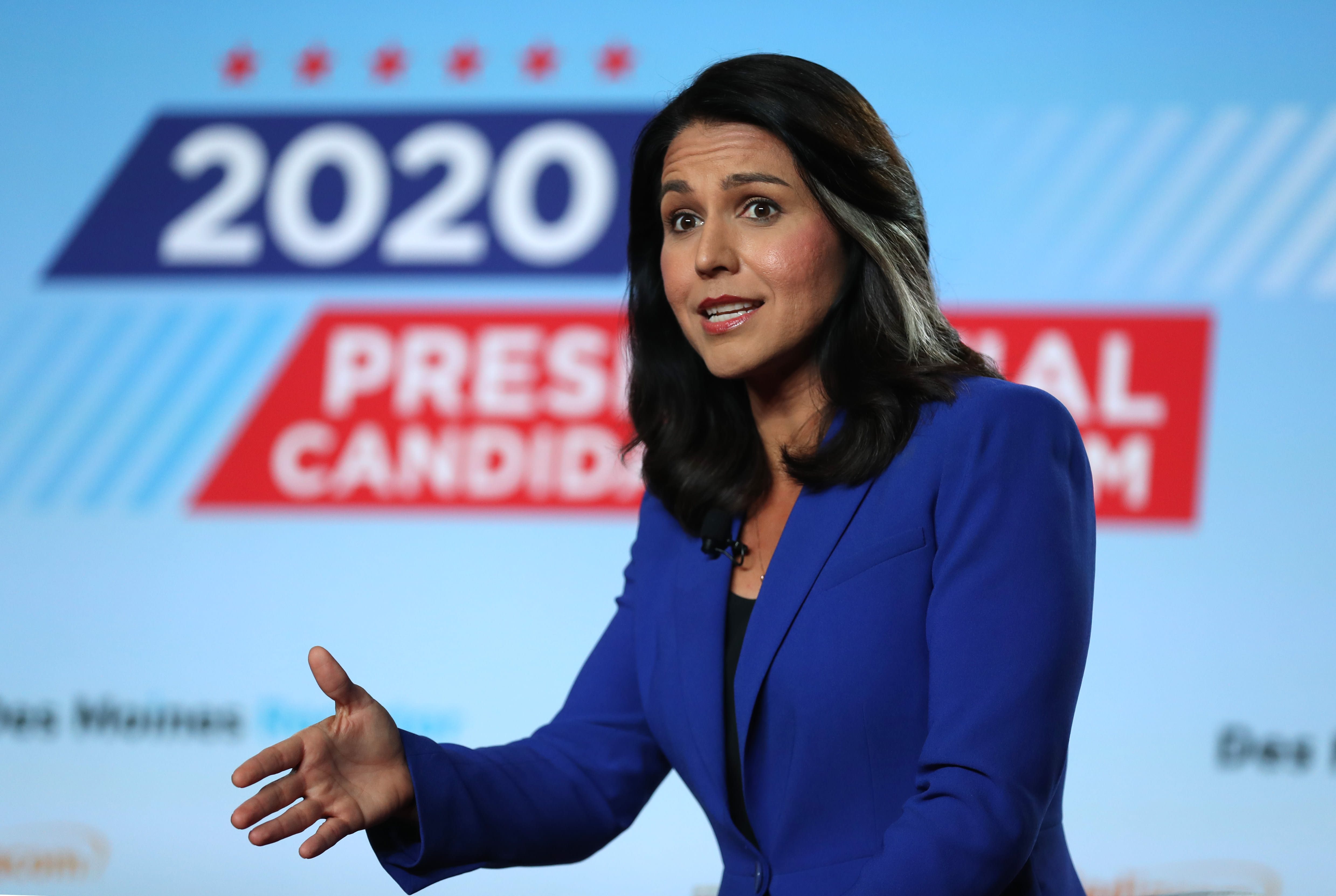 Tulsi Gabbard is the only 2020 Democratic contender to criticize House's impeachment of Trump