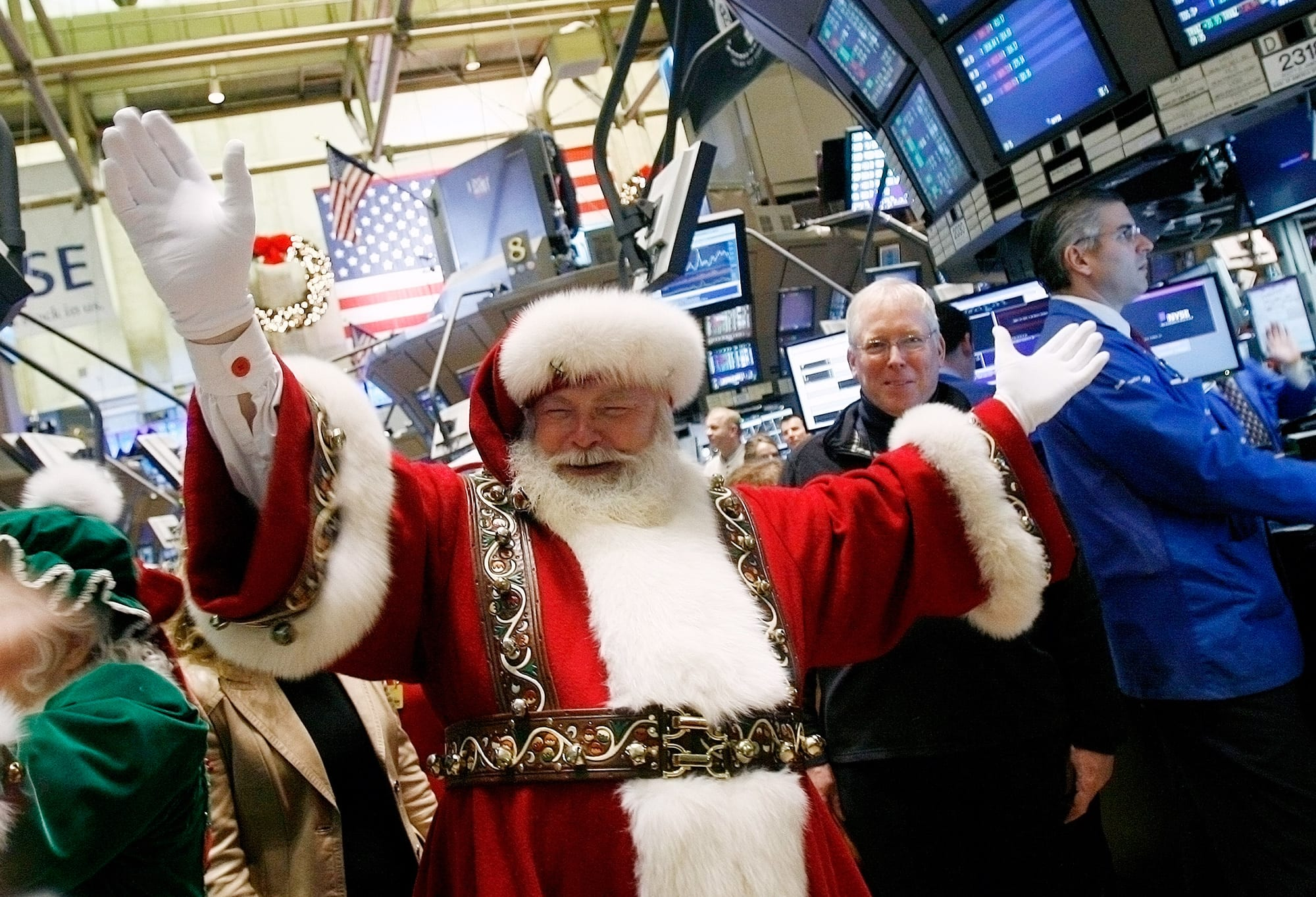Rising market set to get another lift from official 'Santa Claus rally' period beginning next week