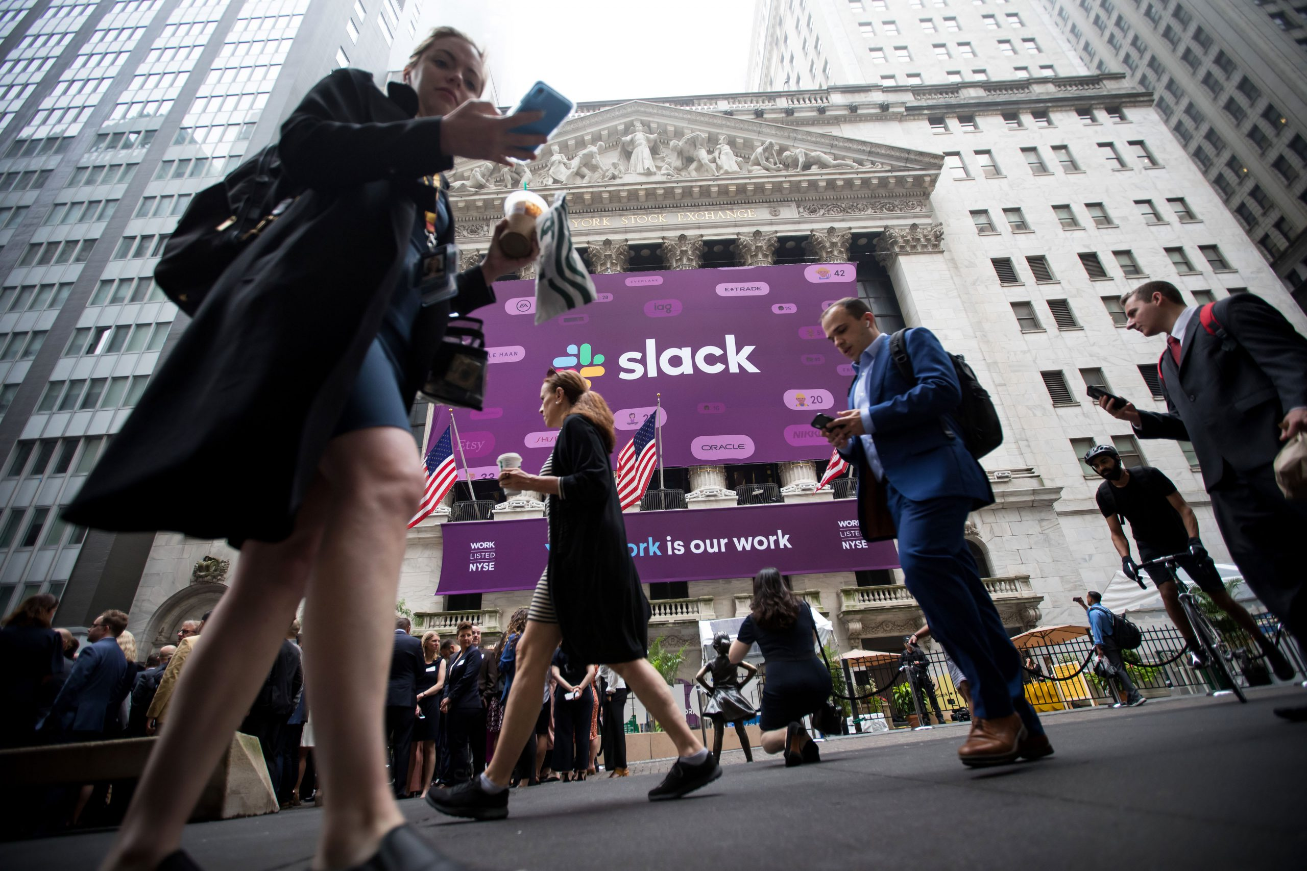 SEC reportedly investigating Slack and other unicorns' market debuts on the NYSE