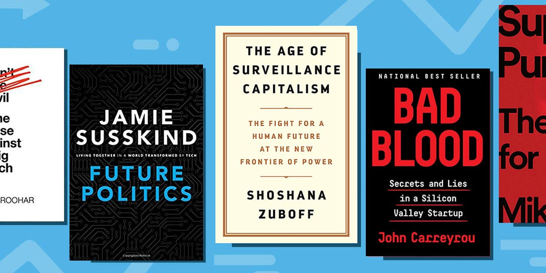 Hacking and imploding startups: 18 books puncturing tech utopianism