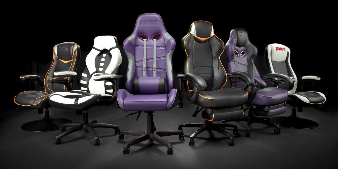 The Office Chair Gets a Gaming Makeover