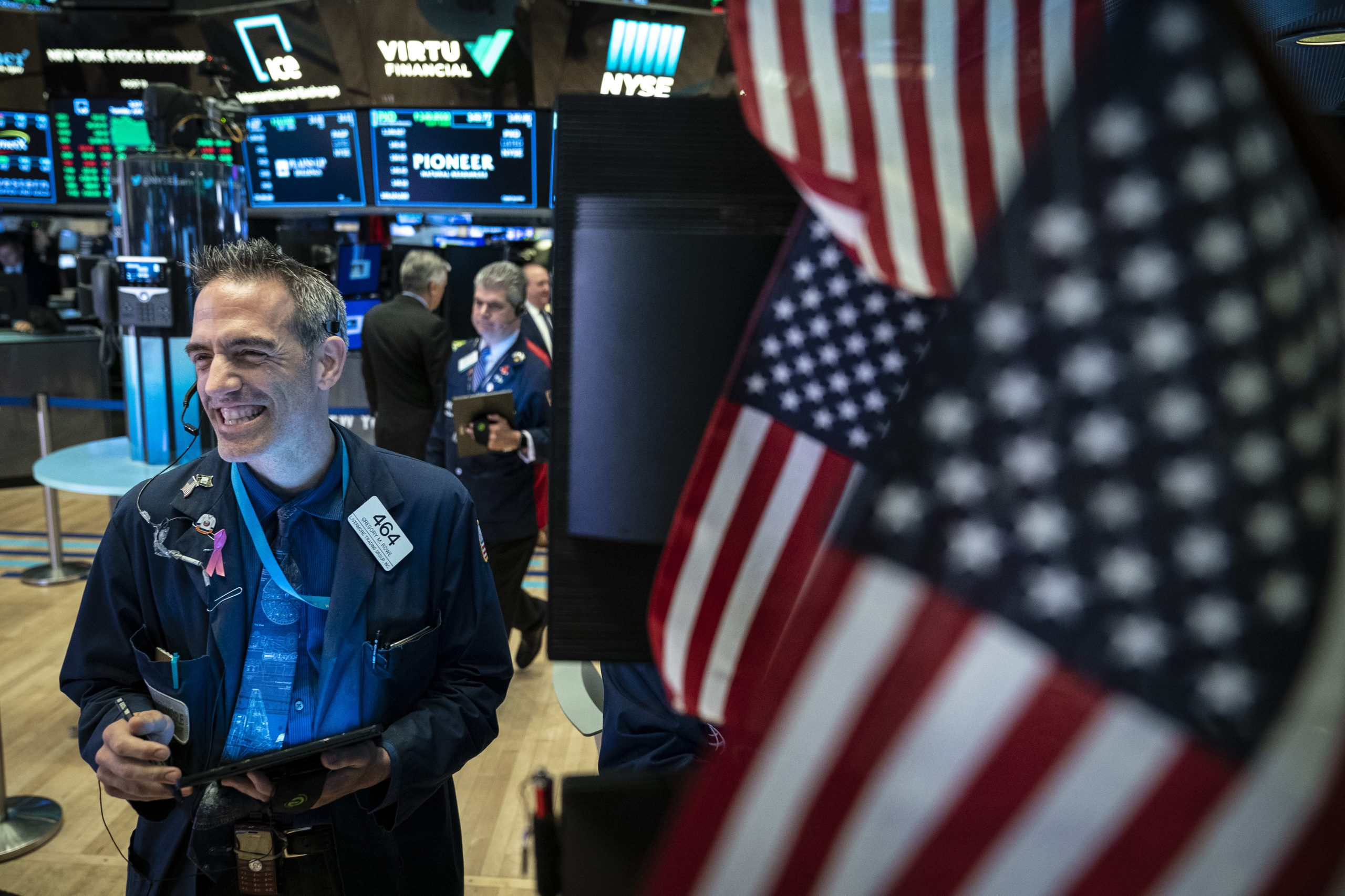 Markets cannot ignore major geopolitical events