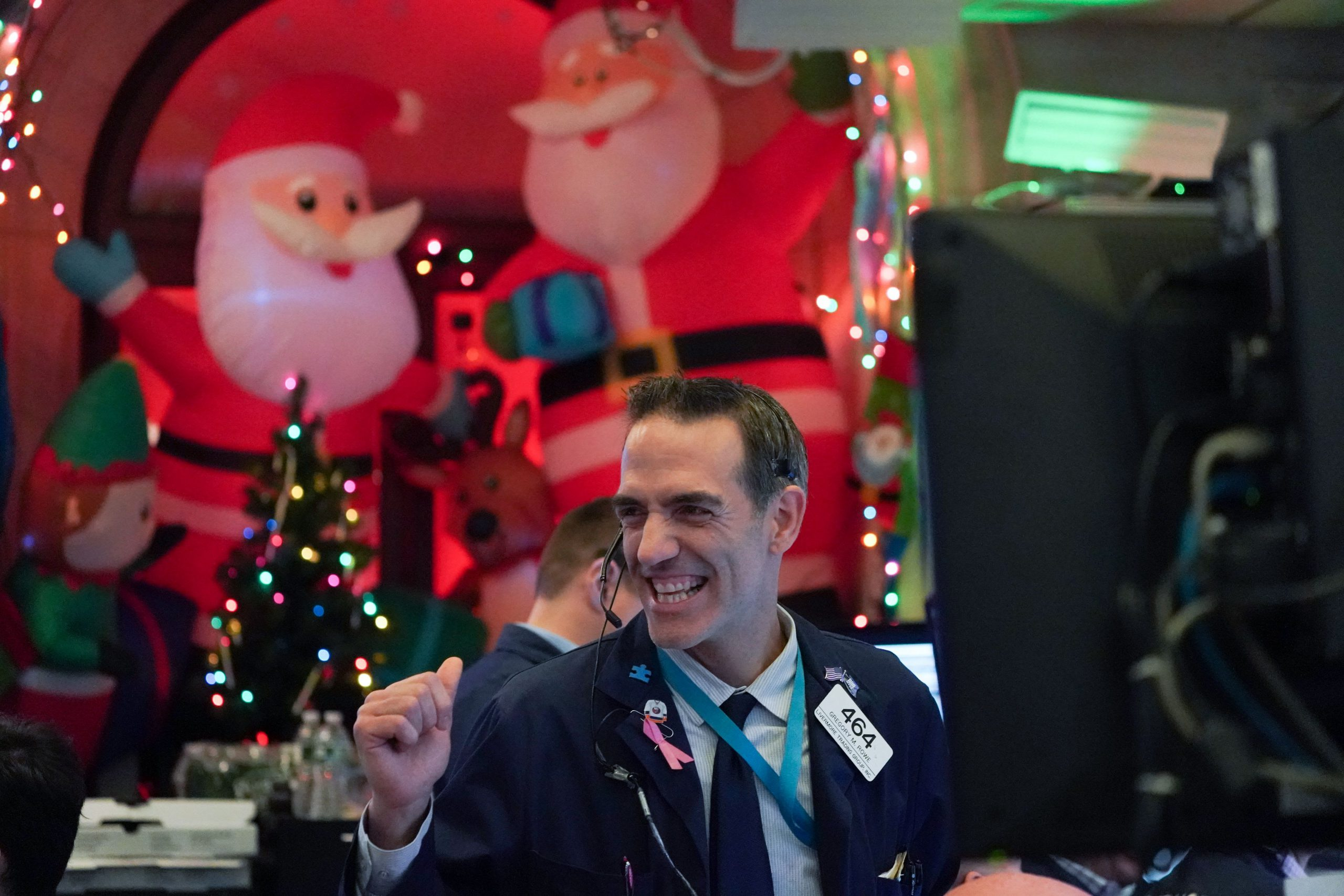 A lot's changed since the market panic last Christmas Eve with the S&P 500 up nearly 40% since