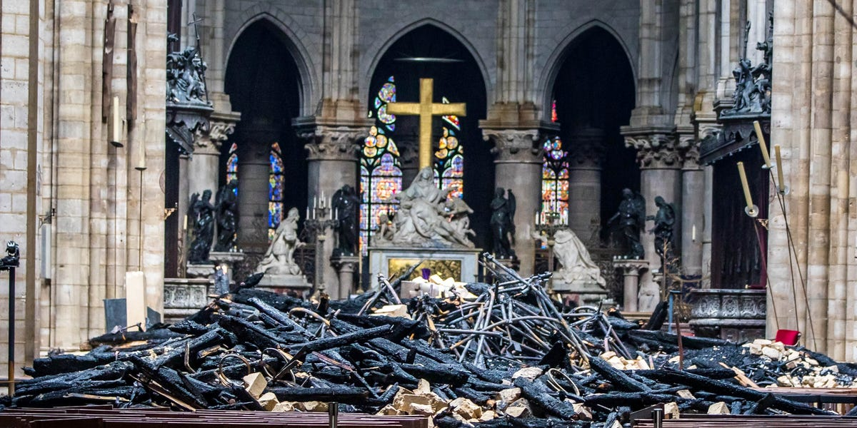 Notre Dame rector: Fragile cathedral might not be saved