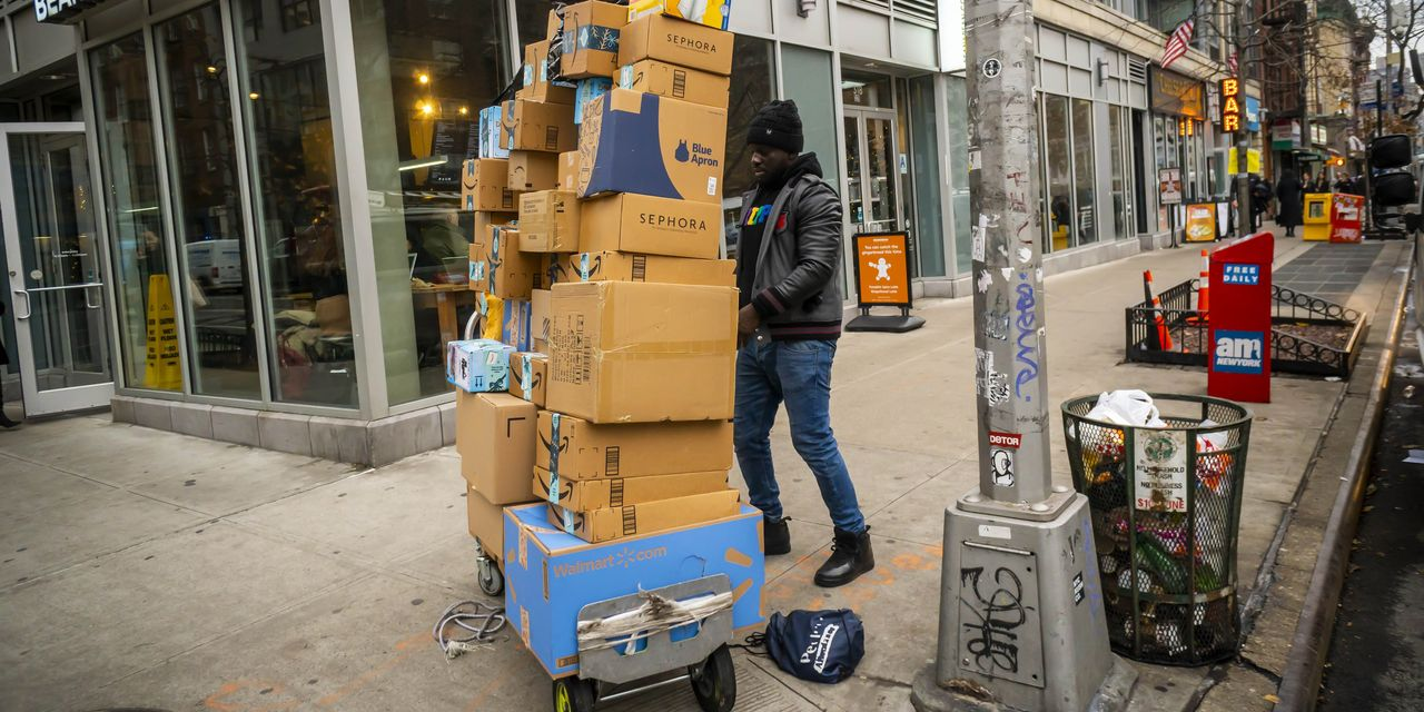 Amazon Says Holiday Business Hit New Highs