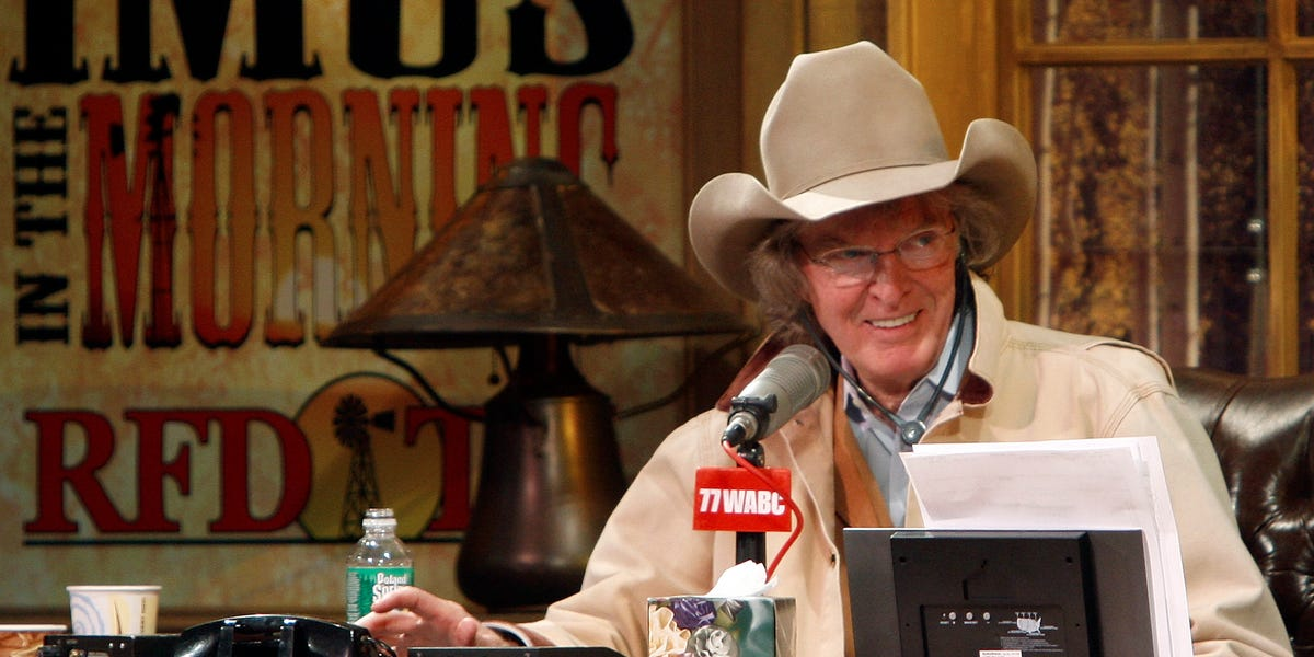 Don Imus, controversial radio host know for 'Imus In the Morning,' dies at 79