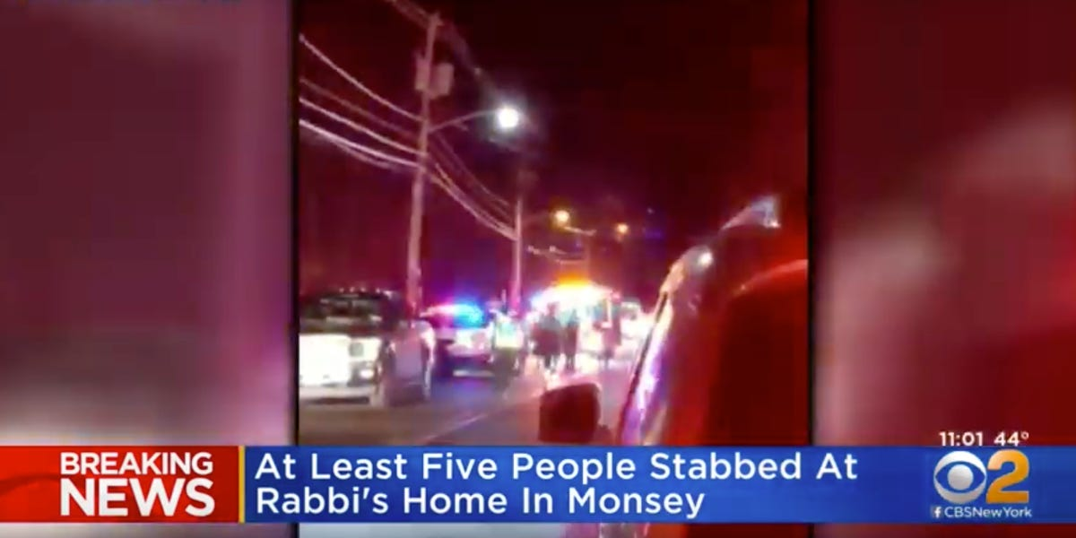 At least 5 people have reportedly been stabbed in a synagogue in Monsey, New York