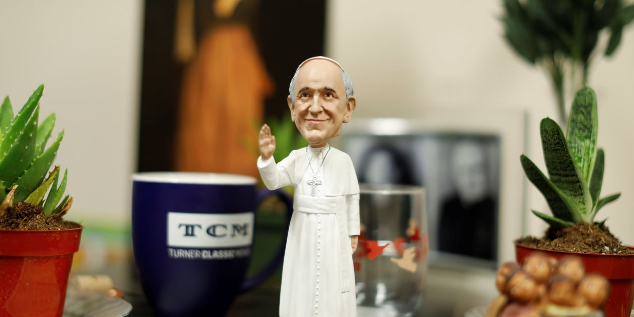 The Lawyer Who Decides Whether Pope Bobbleheads Are OK
