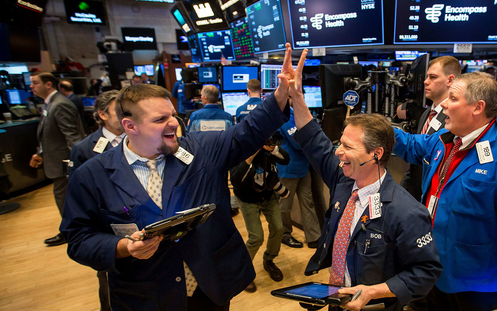 The stock market boomed in 2019. Here's how it happened