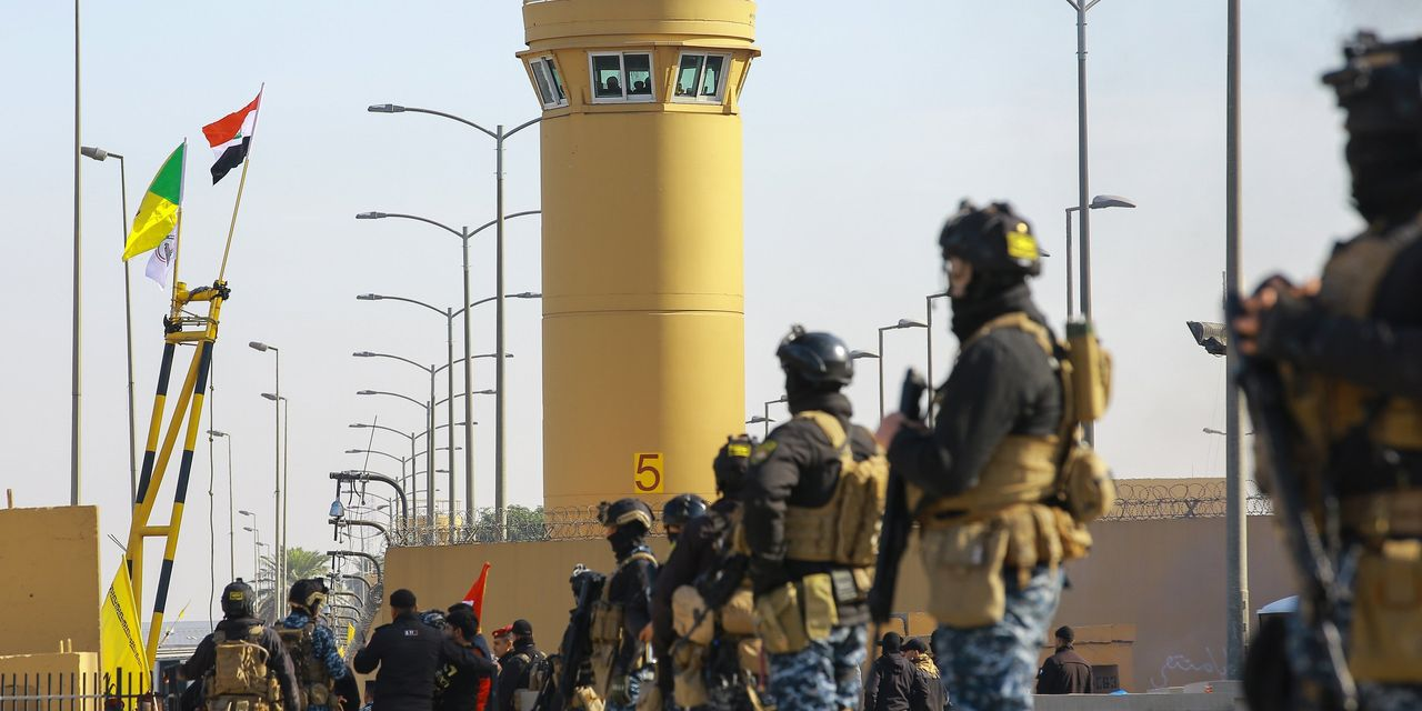 Protesters Retreat From U.S. Embassy Site in Iraq