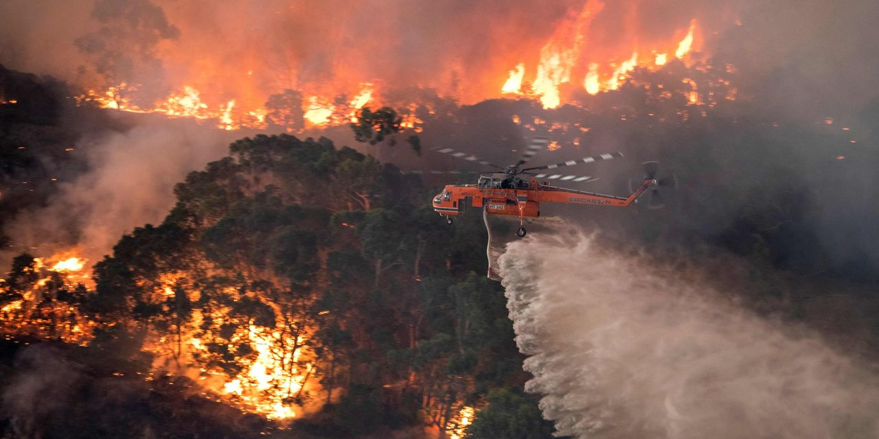 Wave of Blazes Strains Firefighting Network, From Australia to California