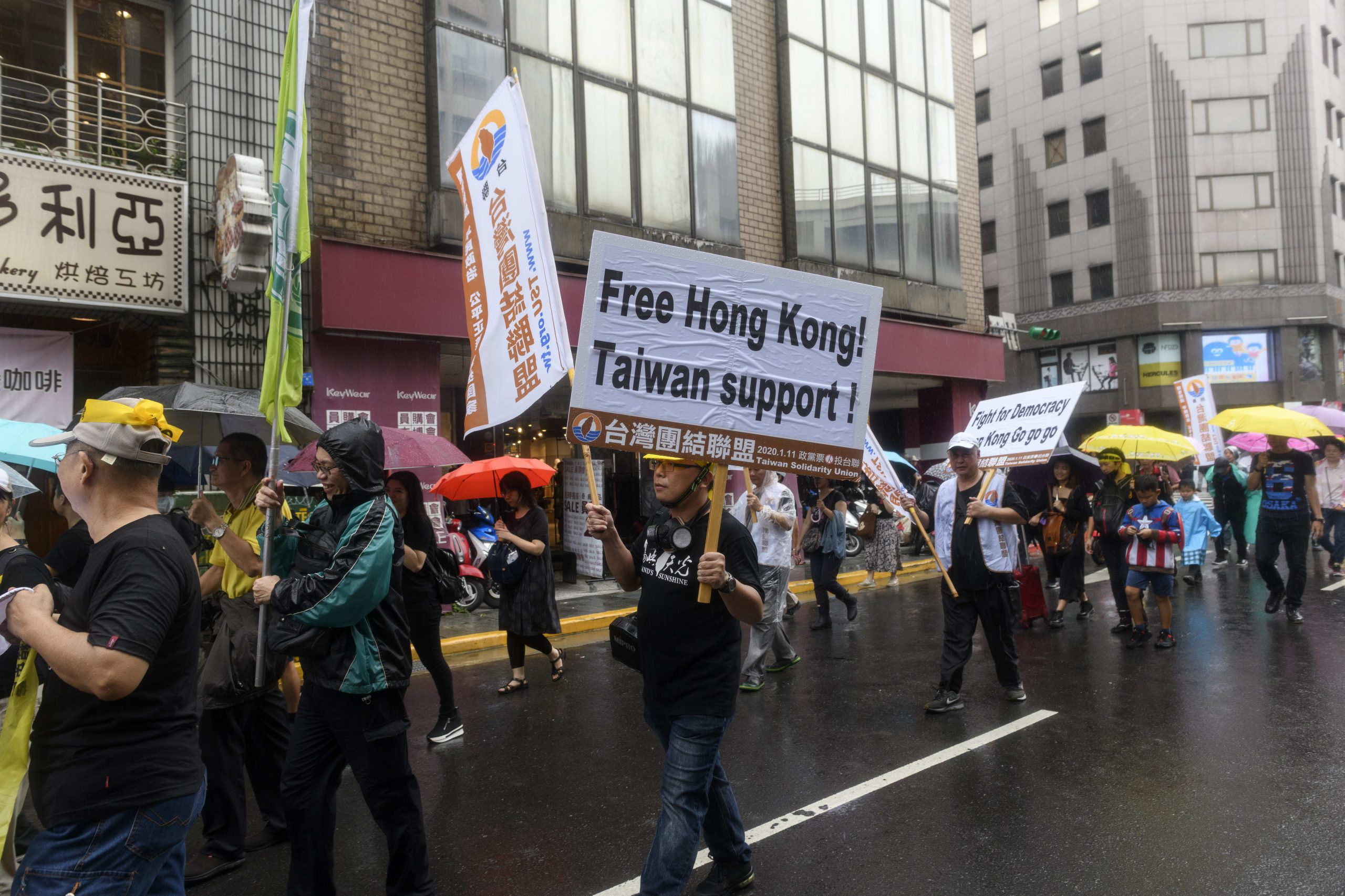 Taiwan heads to the polls as concerns over China mount and Hong Kong protests linger