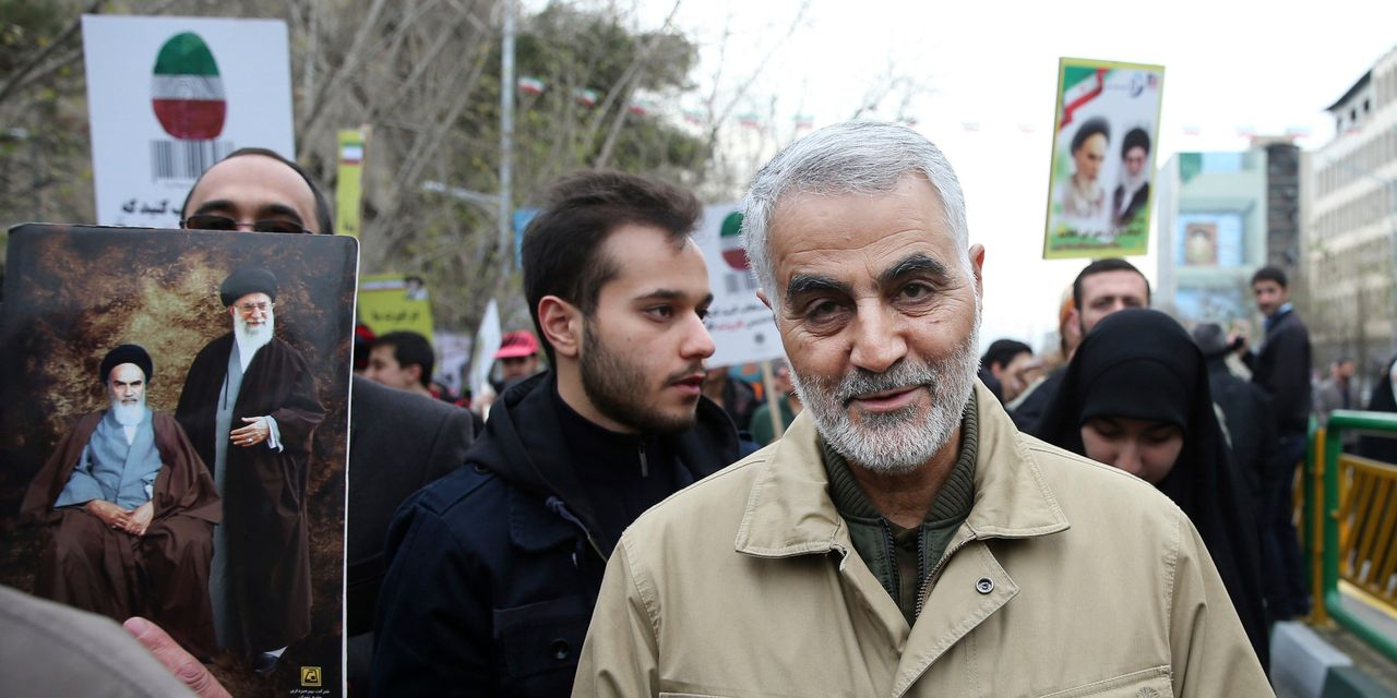Leader of Elite Iranian Military Unit Is Killed in Baghdad