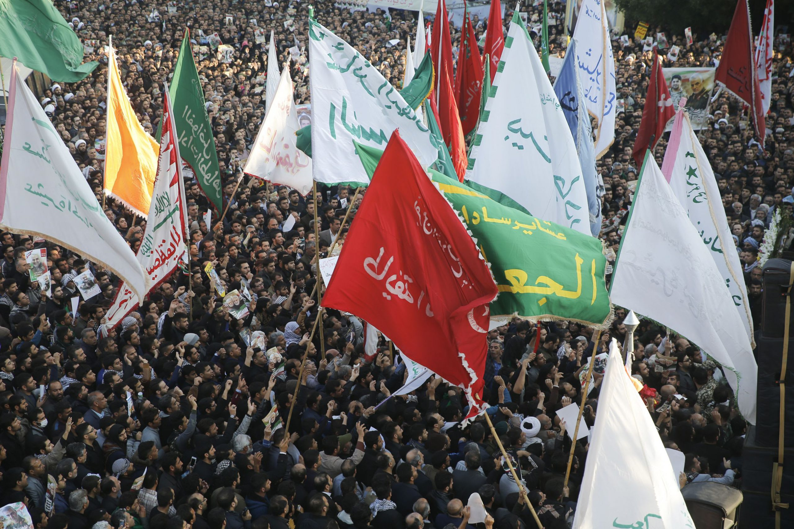 Body of Iranian commander killed by US strike in Iraq returned to Iran