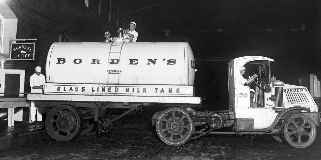 Borden Dairy Files for Bankruptcy