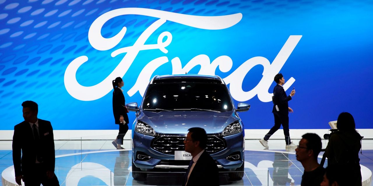 Ford Motor Says More China Trouble on the Road Ahead in 2020