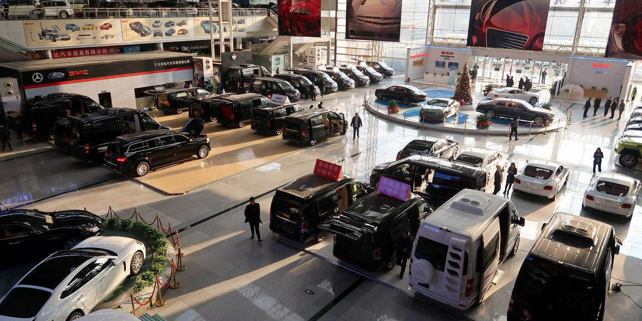 China's Auto Market Stumbles After 30-Year Boom