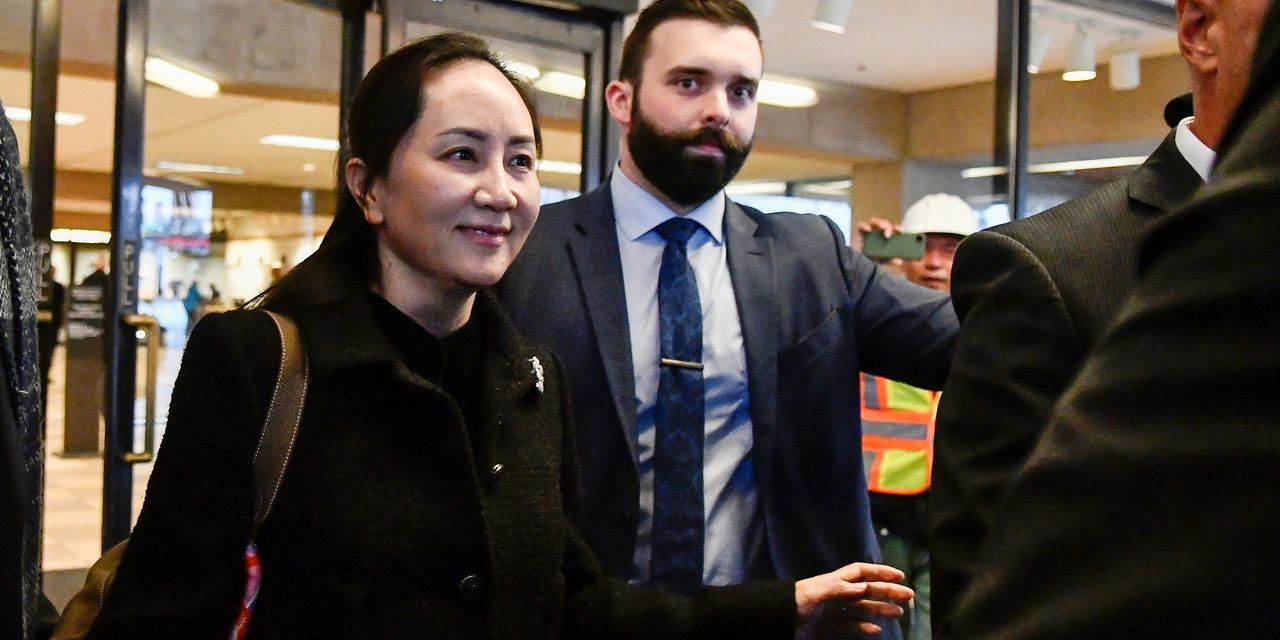 Huawei Executive's Extradition Hearing in Canada Begins