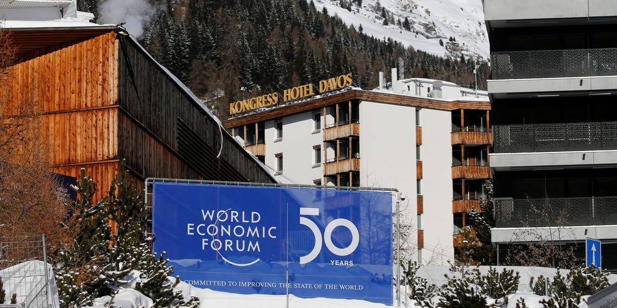 What it's really like to attend Davos: long lines, high security