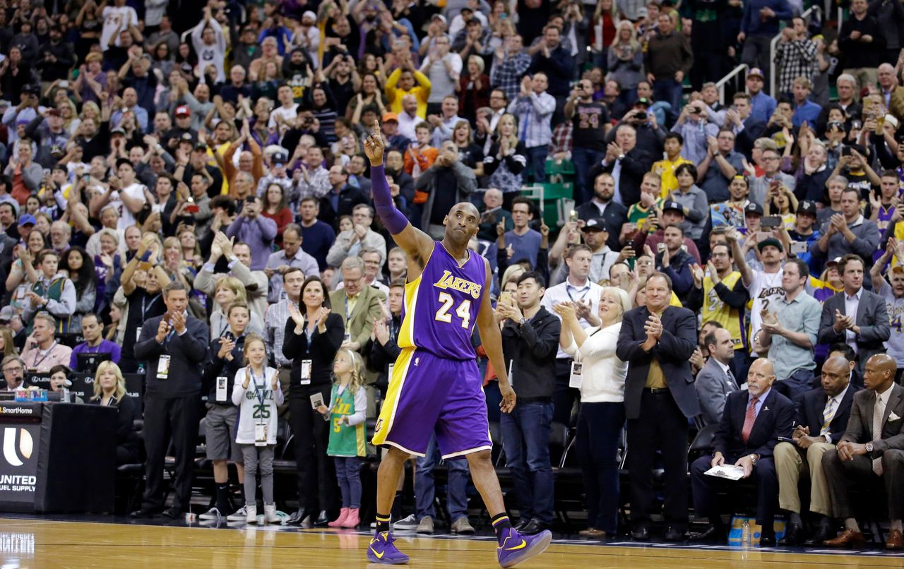 Kobe Bryant's Life and Career in Photos