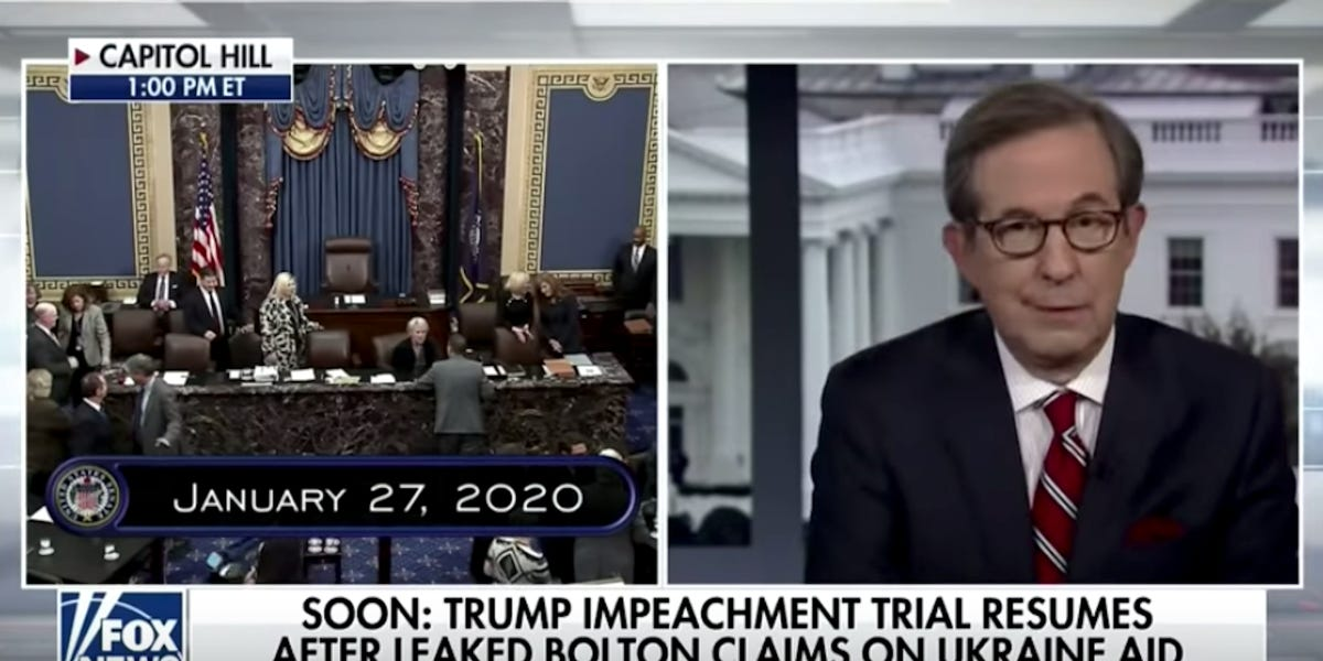 Fox News host tells conservative pundit to get 'facts straight' on impeachment
