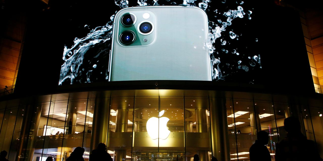 Apple Posts Record Revenue on Strong iPhone, App Sales
