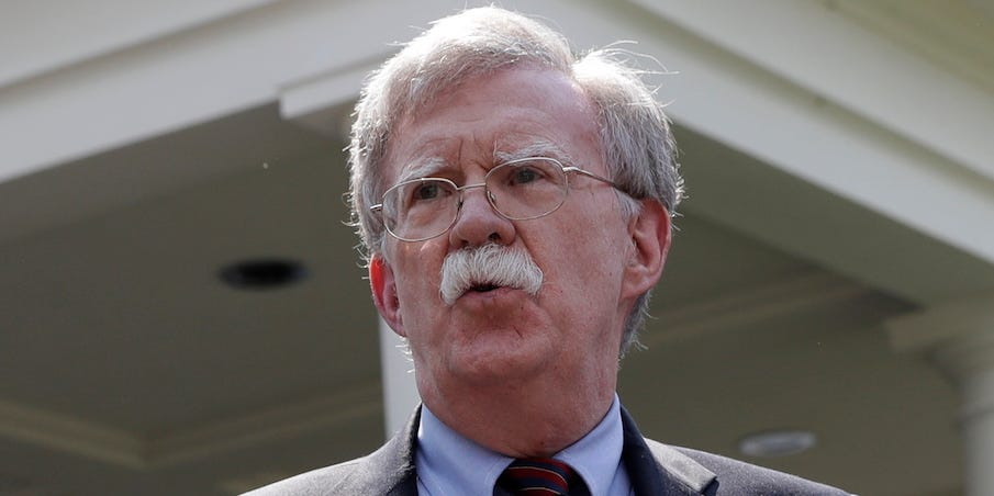 The White House reportedly threatened John Bolton to stop him from publishing his book