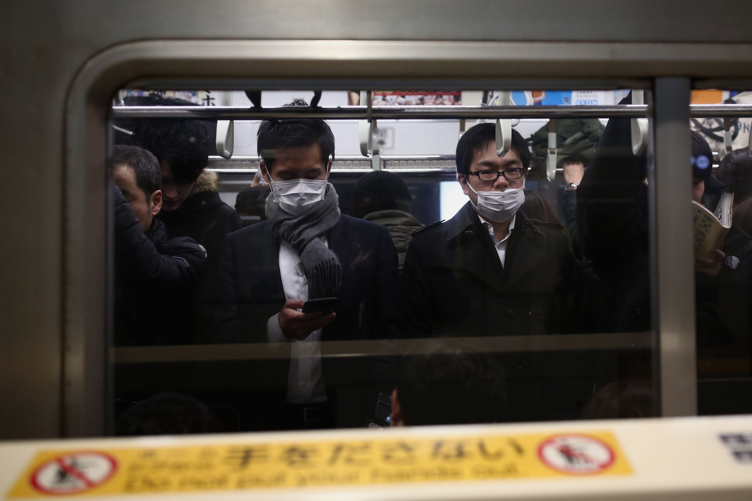 Three Japanese evacuees from Wuhan test positive for virus, two had no symptoms