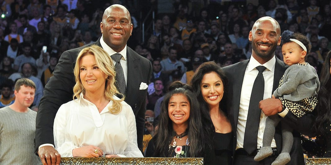 Lakers owner Jeanie Buss said Kobe Bryant inspired her to lead in NBA