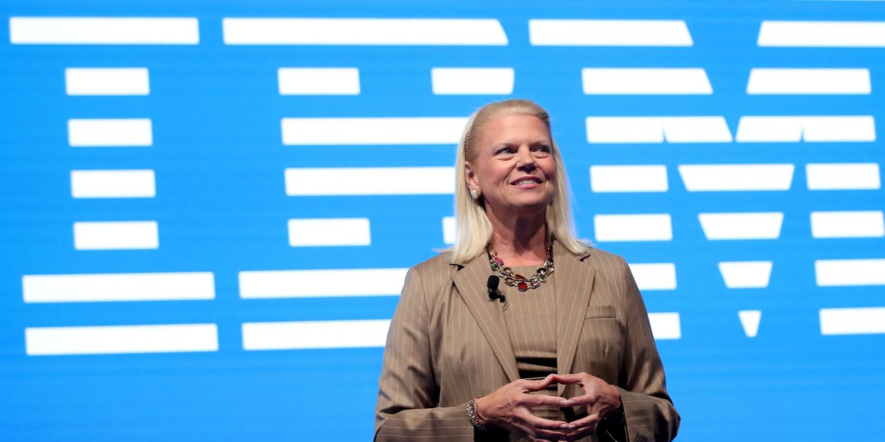 IBM's Ginni Rometty Steps Down as CEO