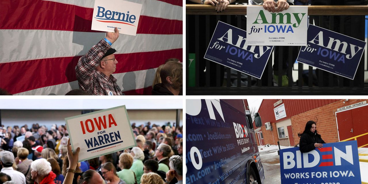 Where Democratic Candidates Might Look for Support in Iowa Caucuses
