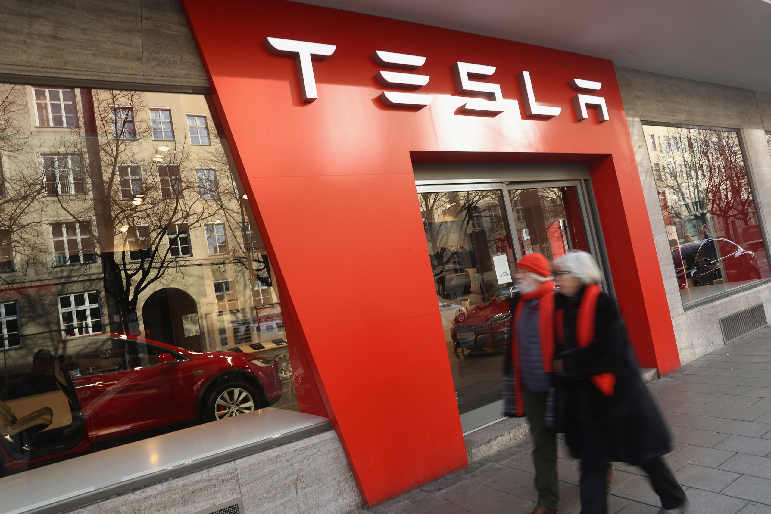 Stocks making the biggest moves midday: Tesla, Alphabet, Clorox, Ralph Lauren and more