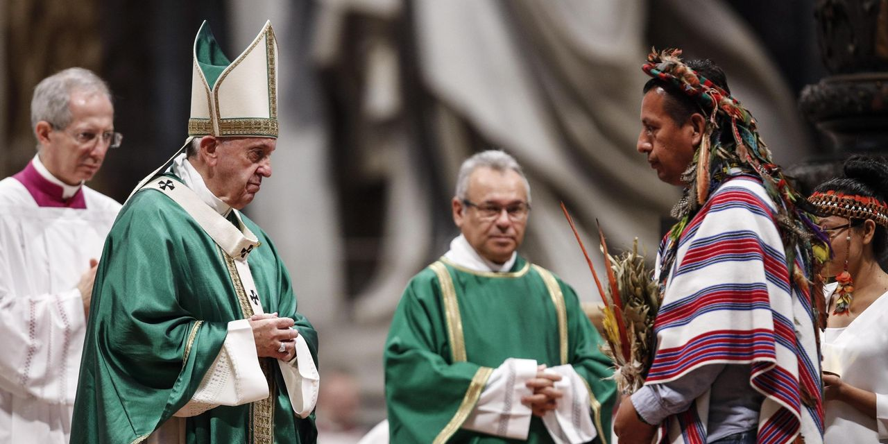 Pope Rebuffs Call for Married Priests in the Amazon