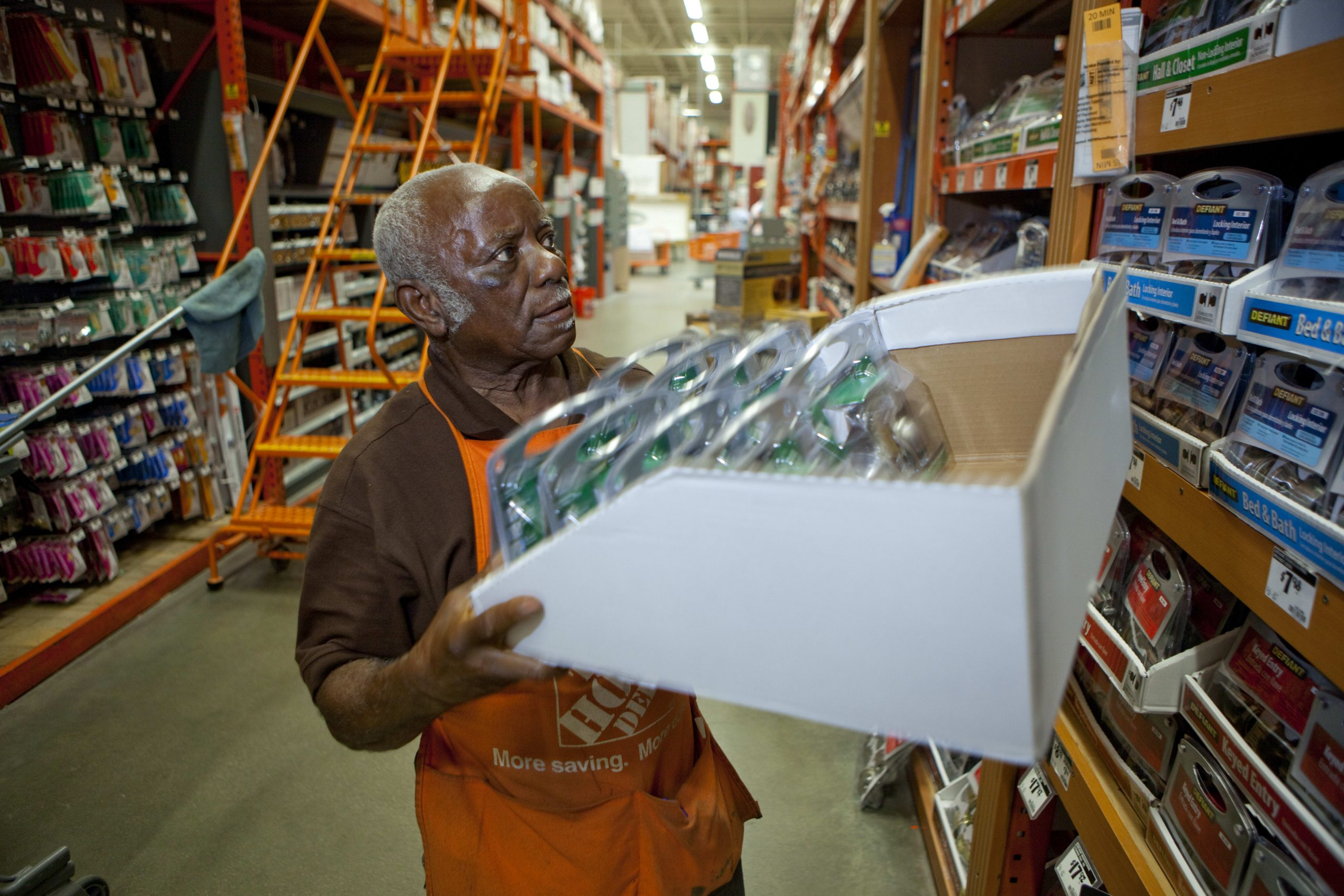 As the job market remains strong, older workers are sticking around