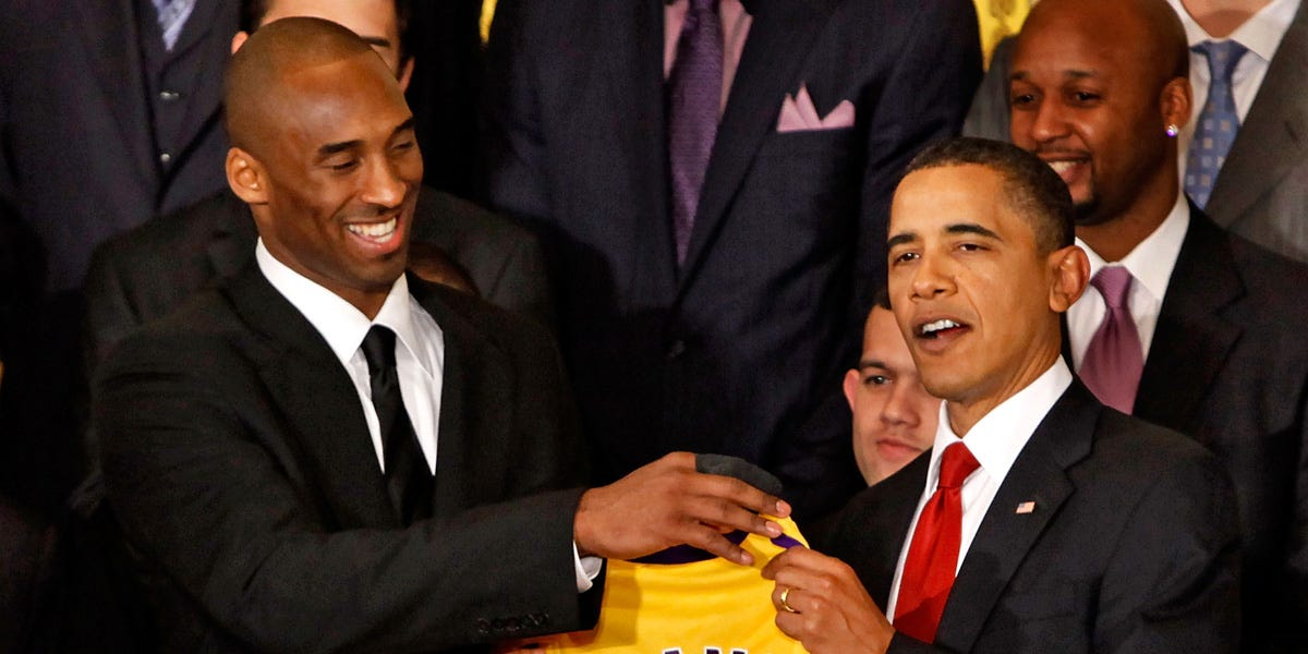 Obama spoke about Kobe and Gianna Bryant's death at NBA Brunch