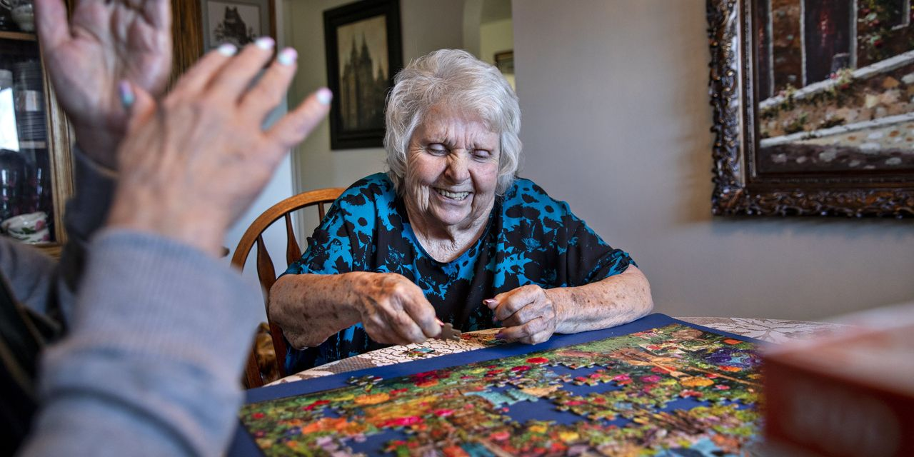 New Help for Dementia Patients, Delivered Via Games and Puzzles