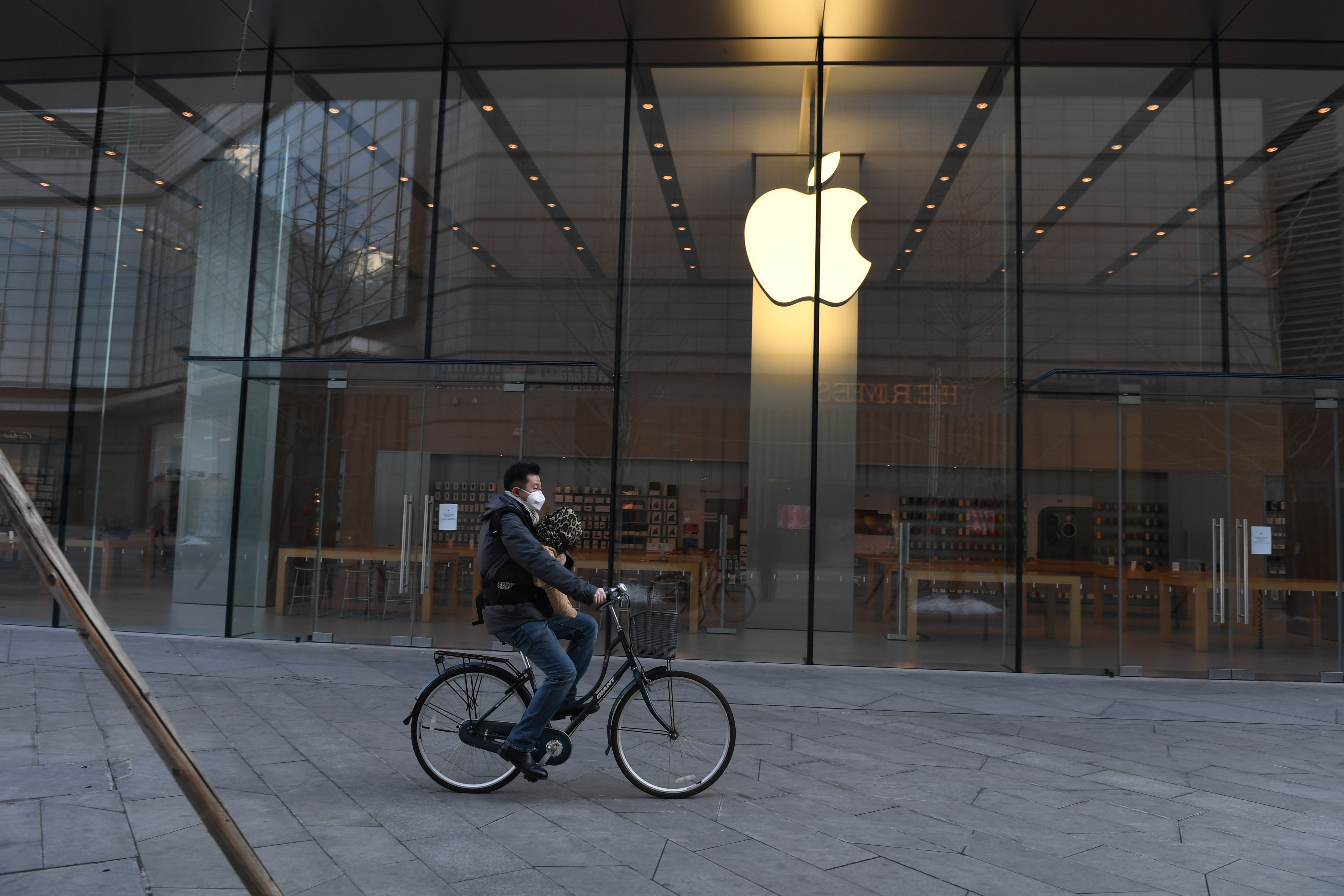 Apple shares slide after coronavirus guidance warning as its global suppliers are hammered