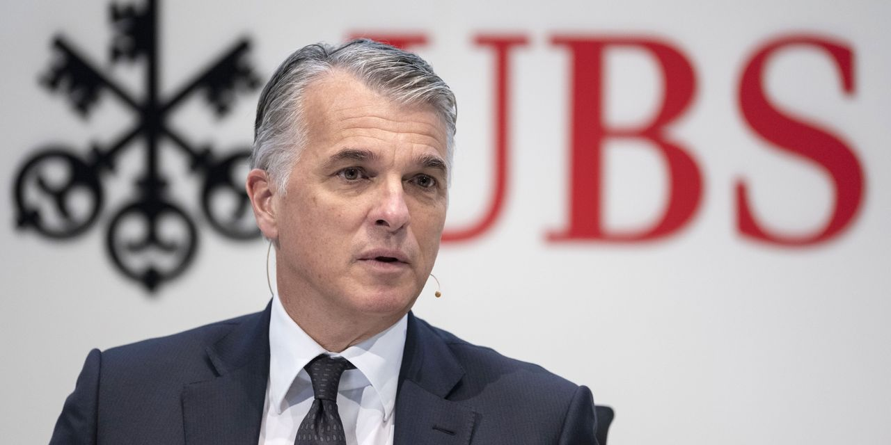 UBS to Name ING's Ralph Hamers as CEO