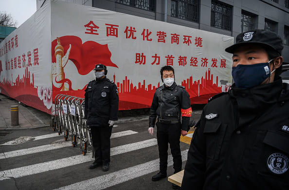 China says two prisons reported nearly 250 cases of the new coronavirus