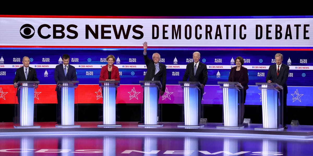 Here are the winners and losers of the South Carolina Democratic debate