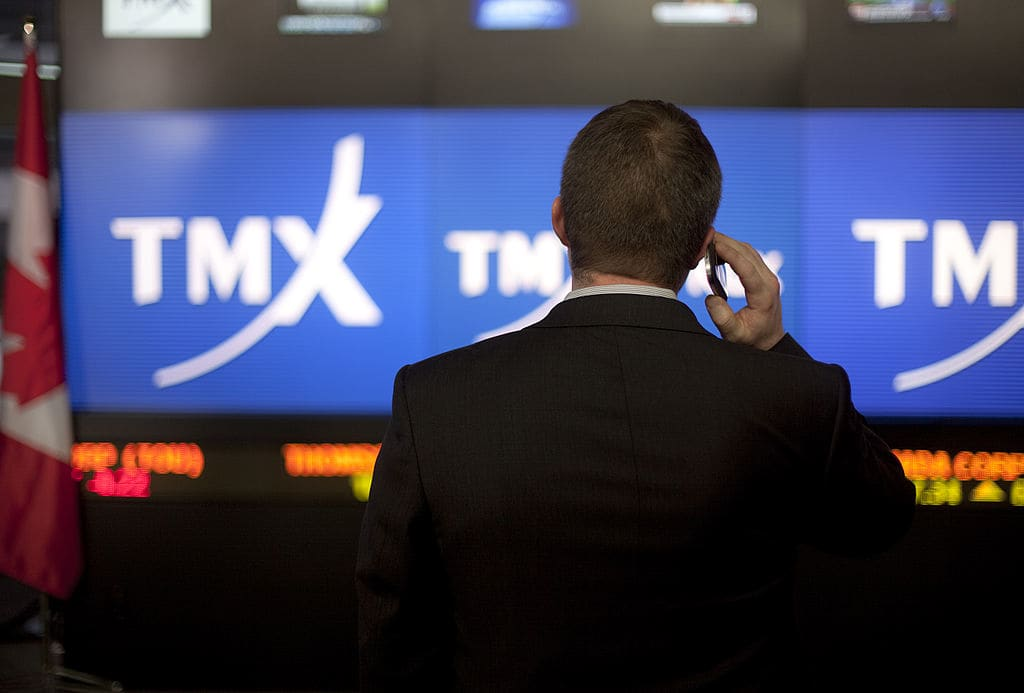 Toronto Stock Exchange halts trading for technical issue amid heavy volume